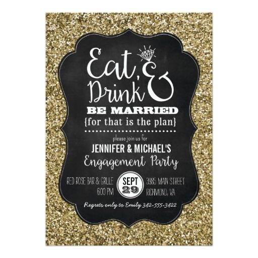266 Best Eat Drink And Be Married Wedding Invitations Images On