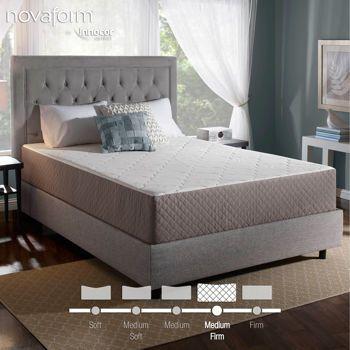 """Costco $399 NovaForm® Deluxe Comfort 12"""" Memory Foam Queen Mattress 《 $399 》"""