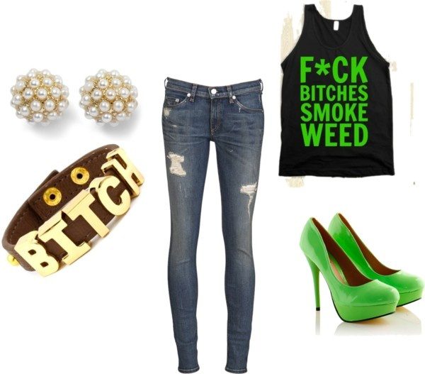 """Quanti's teen club outfit"" by crazymenahla ❤ liked on Polyvore"