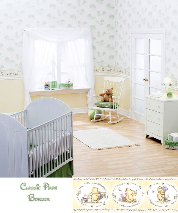 classic pooh nursery Winnie The Pooh Wallpaper For