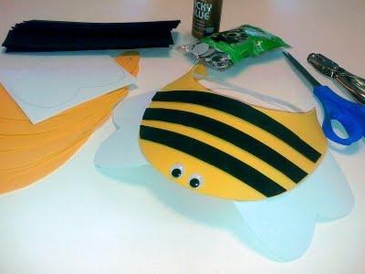 Bumblebee Craft Visor