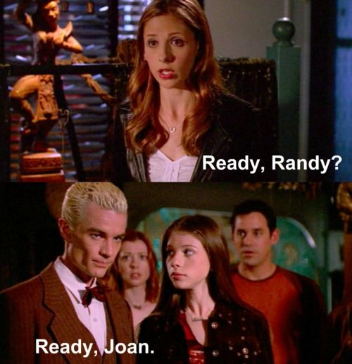 Joan, the Vampire Slayer: Favorite Episode, Buffy The Vampire Slayer, Btvs Angel, Awesome, Btvs Buffy, Funniest Episode, So Funny, Things Buffy, Top