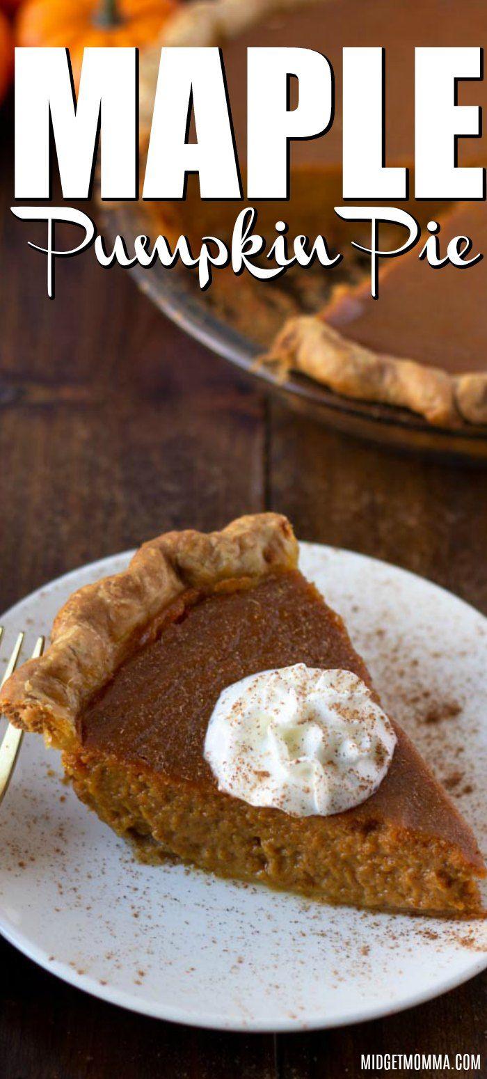 This Maple Pumpkin Pie Is The Best Pumpkin Pie Ever A Tasty Twist
