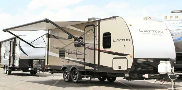 2016 New Skyline Layton by Skyline 214RB Travel Trailer in Arizona AZ.Recreational Vehicle, rv, SEE THE NEW 2016 EVERGREEN LIFESTYLE, BAY HILL AND TESLA MODELS AT OUR MESA LOCATION........... LOWEST WEST COAST PRICES FOR ALL EVERGREEN MODELS........... See the new KZ Durango Gold 5th wheels now in stock........ 2016 VENOM TOY HAULERS ARE ARRIVING IN JANUARY 2016............ Toy hauler savings on the new 2016 Evergreen Reactor models. Save$$$ REBATES AND INCENTIVES ON ALL REACTOR TOY HAULERS