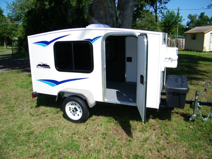 RunawayCampers.com -I like this. Its not as fancy as a teardrop, but starting at $2500 it is cool. Customizing (options)