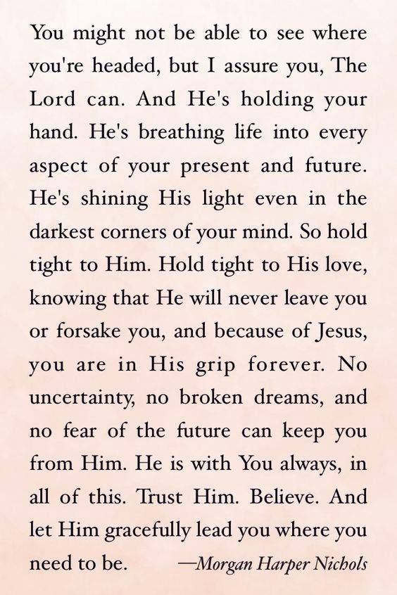 Bible Quotes About Depression you might not know what the future holds but be sure of this   He  Bible Quotes About Depression