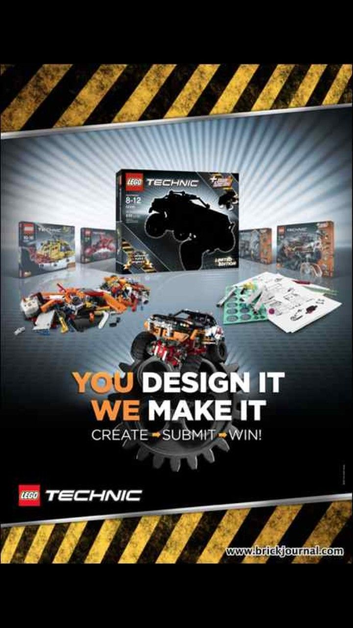 Lego Technic is the name for the sets targeted for the older age categories. The company launches the campaign that let anyone design a toy. The toy that gets the most online votes would be manufactured and sold worldwide. The designers would also earn a share of the product sales.