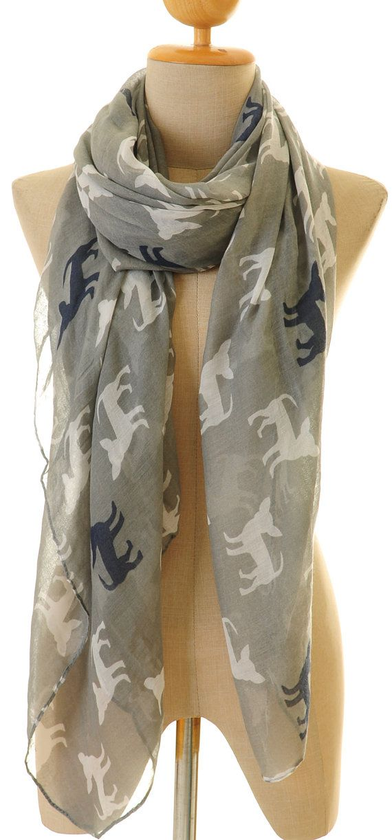 Nuovo cane Chihuahua Voile Infinity Scarf di Tailored2Modesty