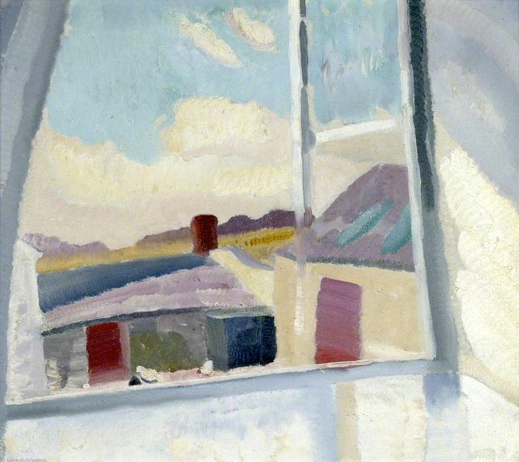 A Border Day (Morning, Bankshead) by Ivon Hitchens (UK)