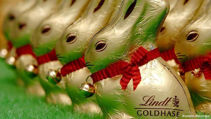 Lindt chocolate bunny!