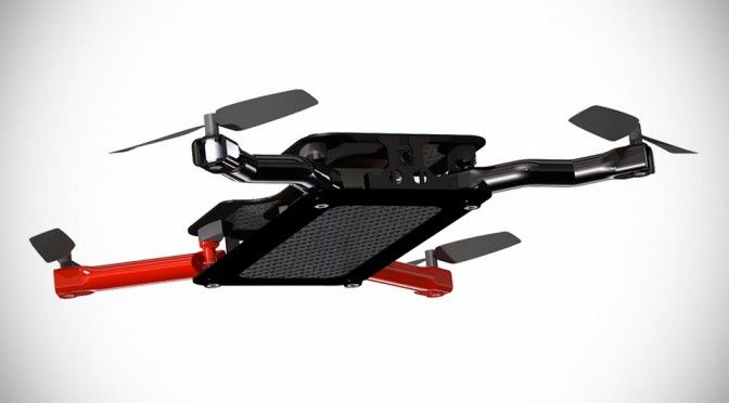 Soon, You Will Be Able to Own a Foldable Flying Camera Drone That Fits Into Your Back Pocket