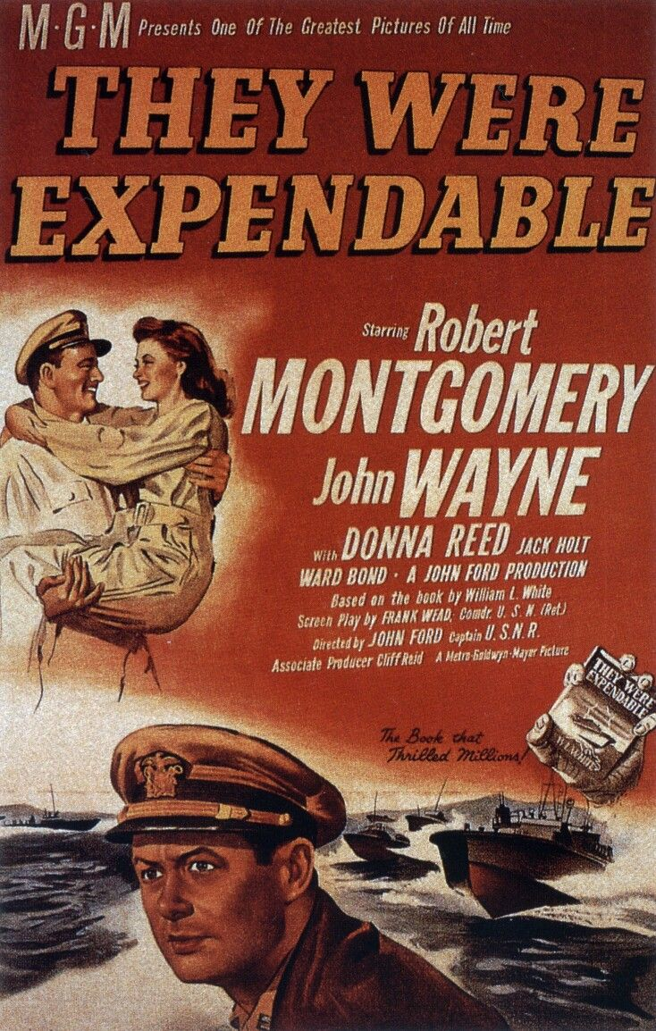 ... : Vintage » John Wayne Movie Posters » They Were Expendable