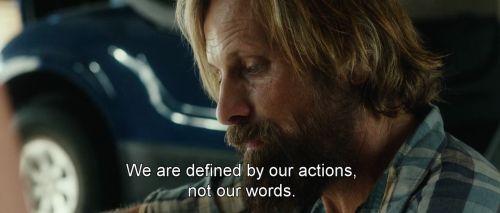 Frase do filme Capitão Fantástico, com Viggo Mortensen