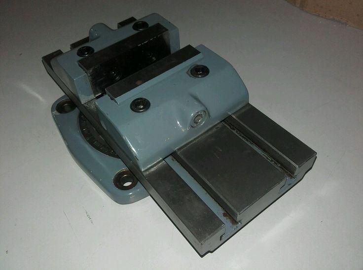 Maschinenschraubstock Schraubstock drehbar universall | eBay