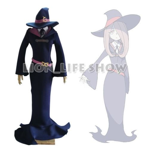 109.83$  Watch now - Little Witch Academia Manbavaran Sucy Cosplay Costume Dress Outfit With Hat   #buymethat