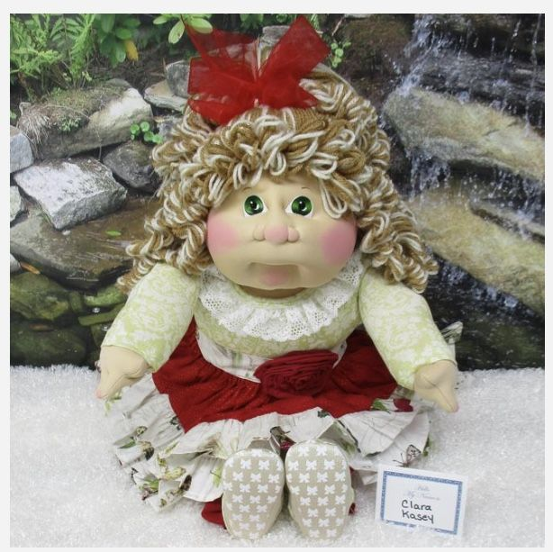 Cabbage Patch Kids Christmas Babies 2020 Cabbage Patch Soft Sculpture LPK 2020 in 2020 | Cabbage patch kids