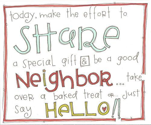 55 Best Good Neighbors Images On Pinterest