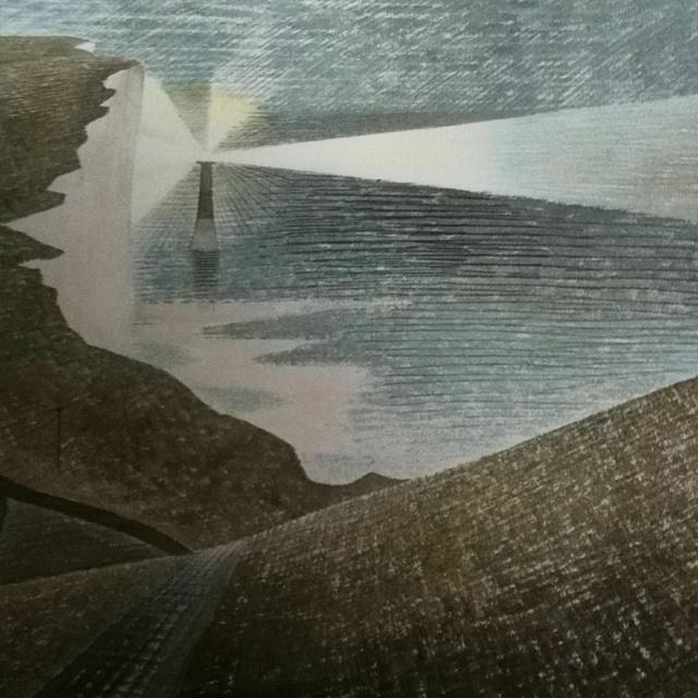 """Beachy Head"" by Eric Ravilious"