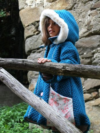 Sewing pattern  Coat for girl