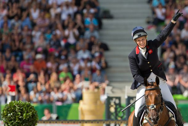 Zara Phillips qualifies for Rio 2016 Olympic Games 01 SEPTEMBER 2014 Zara Phillips whooped with delight and raised her fist in triumph after securing her place on Britain's team for Rio 2016.