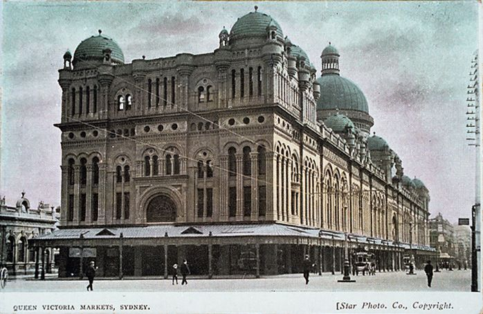 Queen Victoria Building (QVB) early 1900s