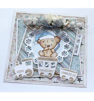 Stempel / Stamp: Transparent Transparent Stempel: Baby und Bärchen