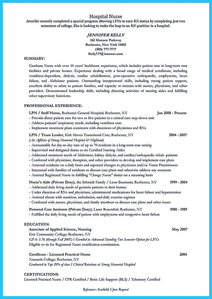 critical care resume sles