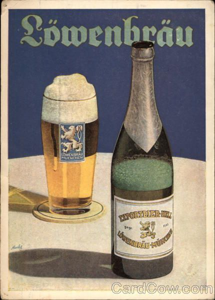 "Lowenbrau Beer Breweriana www.LiquorList.com  ""The Marketplace for Adults with Taste!""  @LiquorListcom #liquorlist"