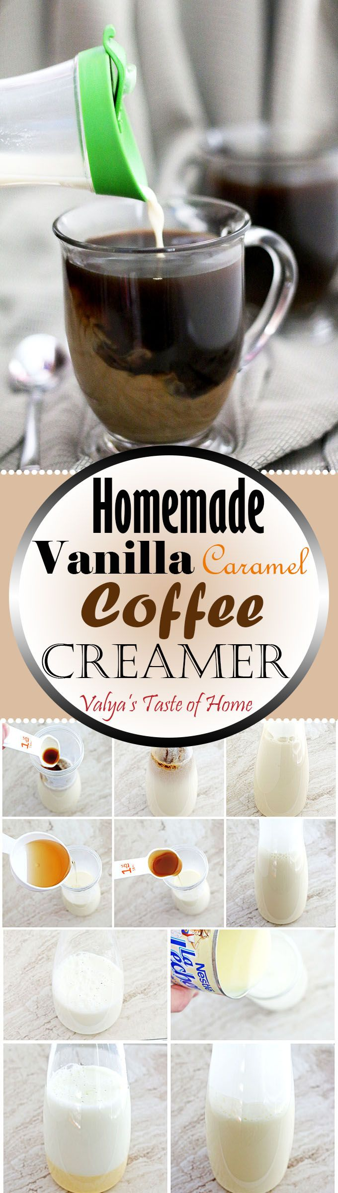 With really cold days approaching, we all look forward to braving them out with a cup of hot coffee. Since I don't like my coffee plain, the addition of steamed milk and tasty vanilla-caramel flavors, my coffee tastes just as delicious as from a coffee shop and for so much less.
