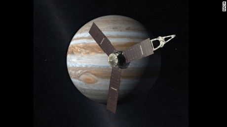 NASA says it has received a signal confirming its Juno spacecraft has successfully started orbiting Jupiter, the largest planet in our solar system.