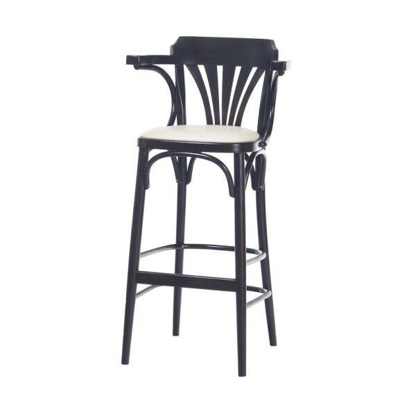 Krzesło barowe 135 tapicerowane wysokie lub niskie