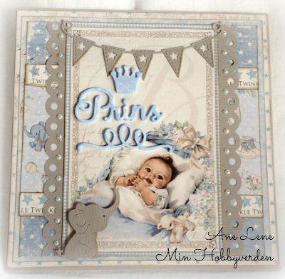 Min hobbyverden: Kort til en nyfødt prins