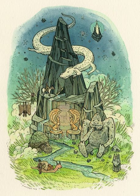 nimasprout - Art by Nicole Gustafsson: Crazy4Cult NYC: Tonight!