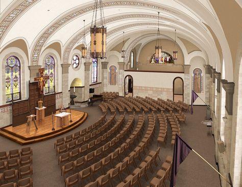 The 25+ best Church interior design ideas on Pinterest   Church ...