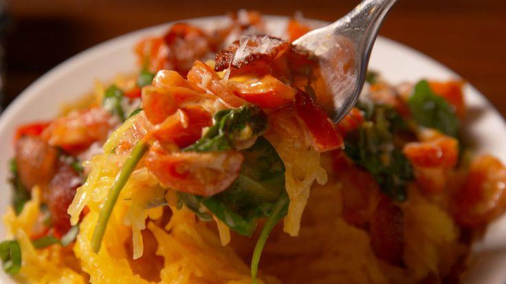 Tuscan Spaghetti Squash