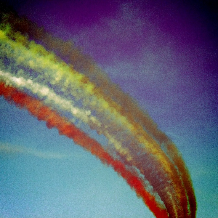 Frecce tricolori a Rimini