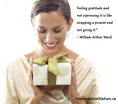Who needs a word of appreciation and gratitude today?  Why don't you send them a card?  It will make their day!    http://AppreciationStation.ca    #30DayGratitudeChallenge