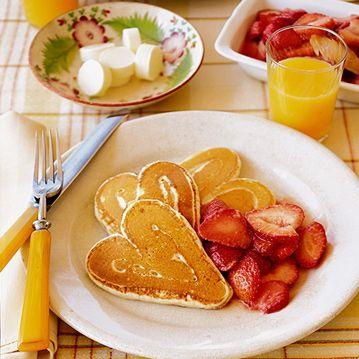 Desayunos con amor.