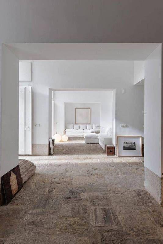 Best All White Room Ideas White Unfinished Floor Living Room