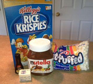 Shhhopsecret Nutella Rice Krispies Recipe Recipes For