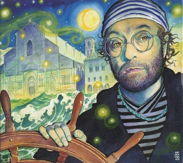 Milo Manara 2006 Lucio Dalla - 12000 Lune (3CD) [RCA 8287689749] #albumcover  #comics