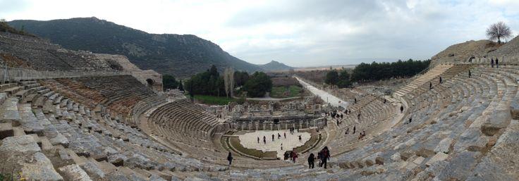 円形劇場 , Ephesus
