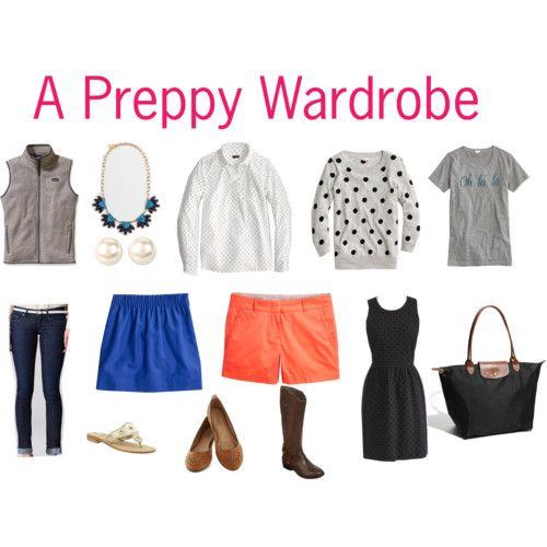 How to Build a Preppy Wardrobe