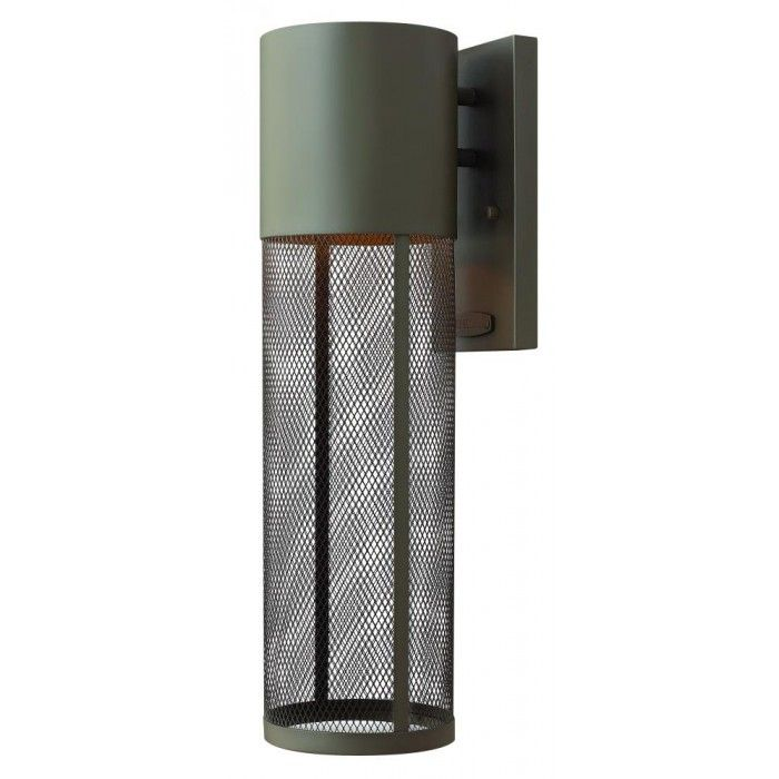 Stainless Steel Mesh Outdoor Wall Light by Hinkley Canada