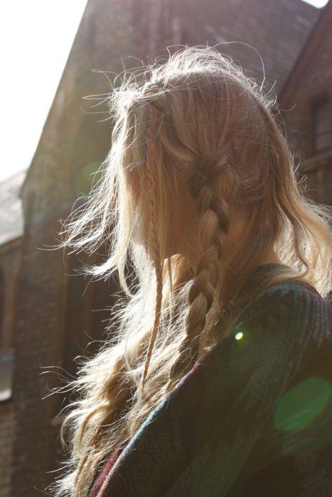 braid in her hair #viking #maiden #medieval