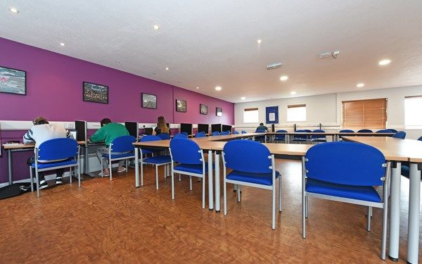 Our quiet room is perfect for those important revision times.