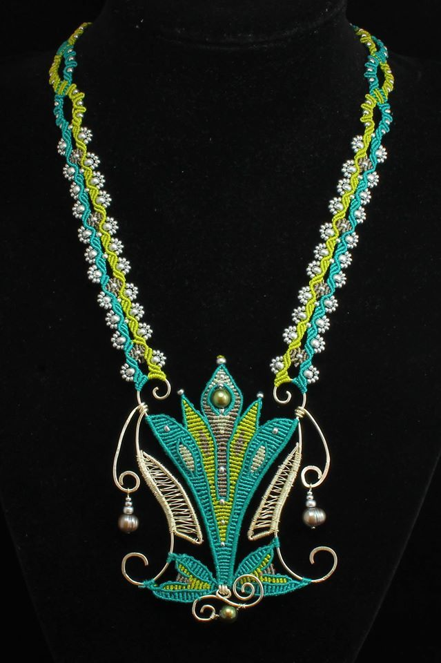 Imbali Crafts - Macrame Necklace