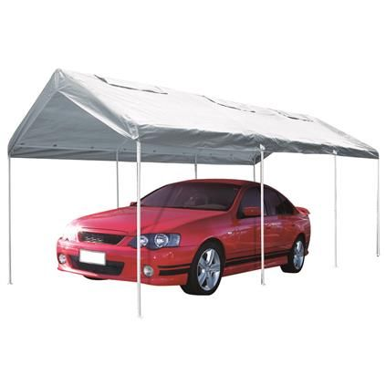 SCA Temporary Carport - With Vents, 3 x 6 x 2.7m