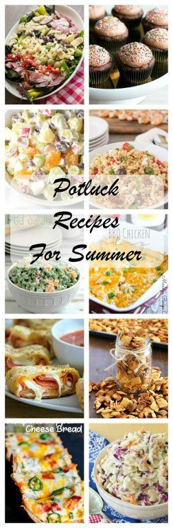 Potluck Recipe Ideas for Summer