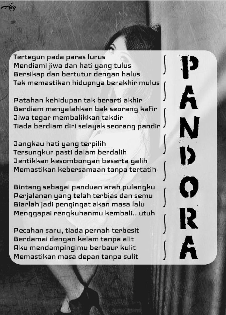 Jakarta, Puisi Monokrom l Pandora -ASG-